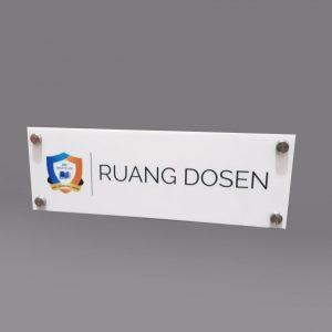 signage acrylic s18
