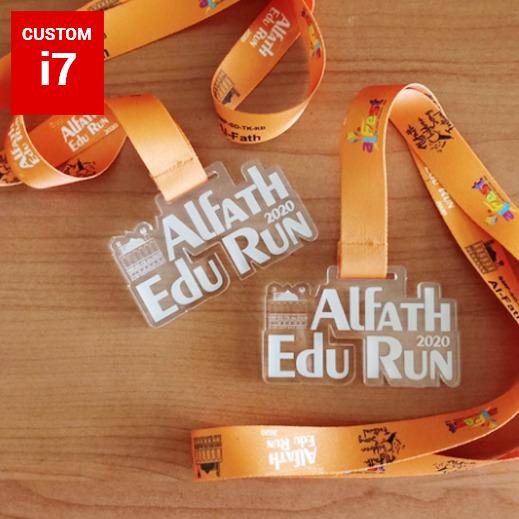 Medali akrilik Alfath 1