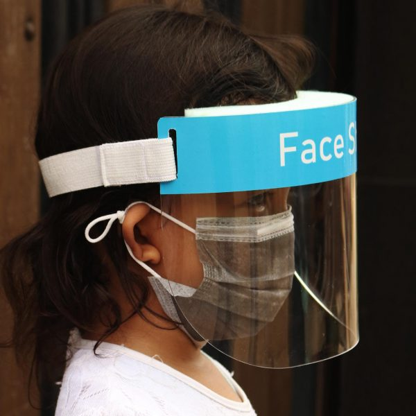 face shield anak 2