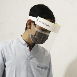 face shield akrilik
